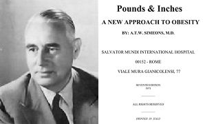 Pounds and Inches by doctor A.W. Simeons